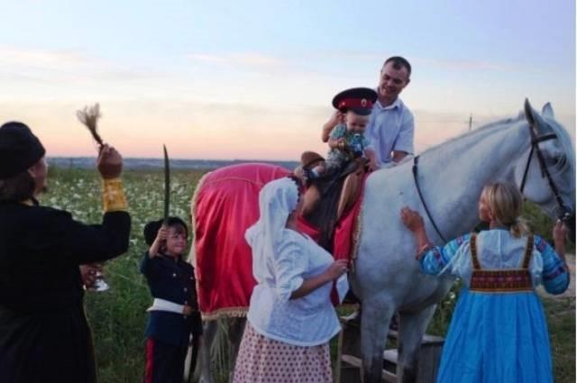 воспитание юноши в традиции казаков