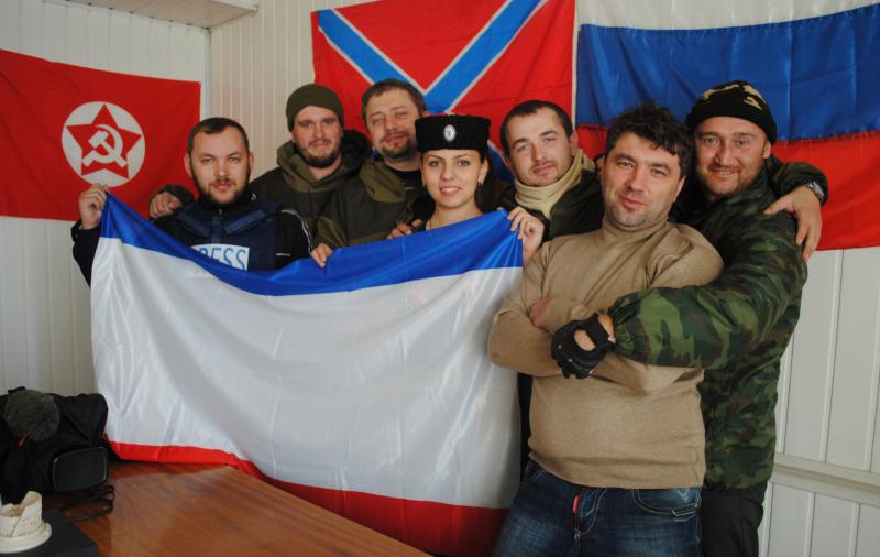 Делегация «Новоросса» договорилась о сотрудничестве с казачьим пресс-центром Новороссии
