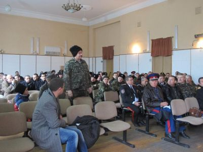 Феодосийских казаков призывают записаться в реестр
