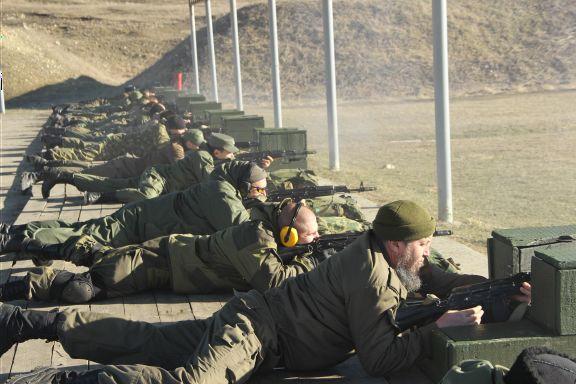 9 декабря 2014 г. состоялись плановые практические стрельбы для казаков ССКО «Станицы Казанской»
