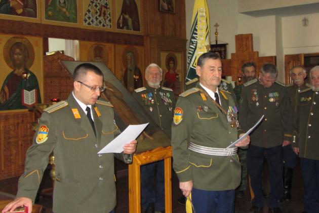 Атаман Чупин принял казачью присягу в Чите