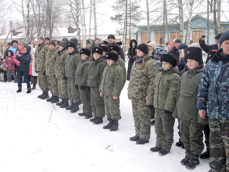 В Муроме начал работу зимний молодёжный военно-патриотический лагерь