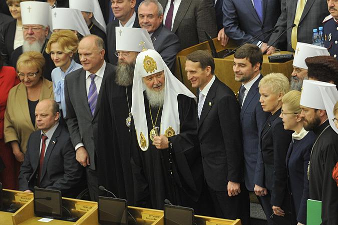 Патриарх Кирилл: Не следует идею свободы противопоставлять другим фундаментальным ценностям