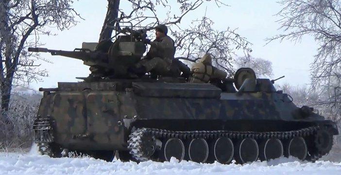 Армия Новороссии замыкает кольцо вокруг Дебальцево