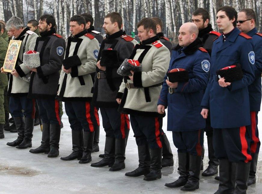 Открытие военно-патриотического комплекса «Пересвет» в НКП «РУСЬ»