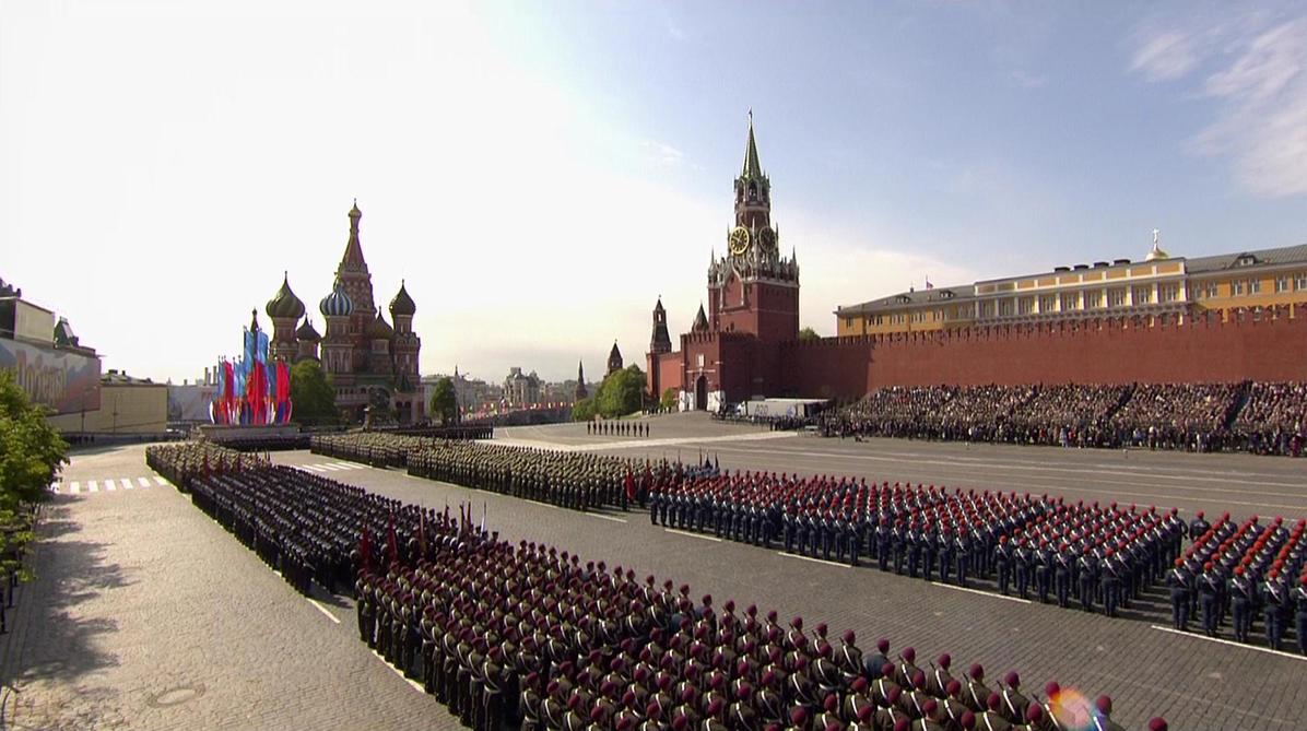 Казаки примут участие в параде на Красной площади в Москве 9 мая