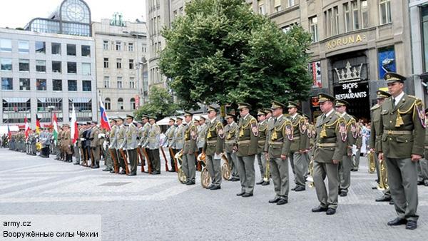 Чехословацкие резервисты заявили НАТО, что не будут воевать против России