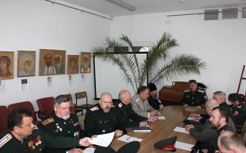 Протоиерей Игорь Коростелёв принял участие в заседании Совета атаманов РОО «Белорусское казачество»