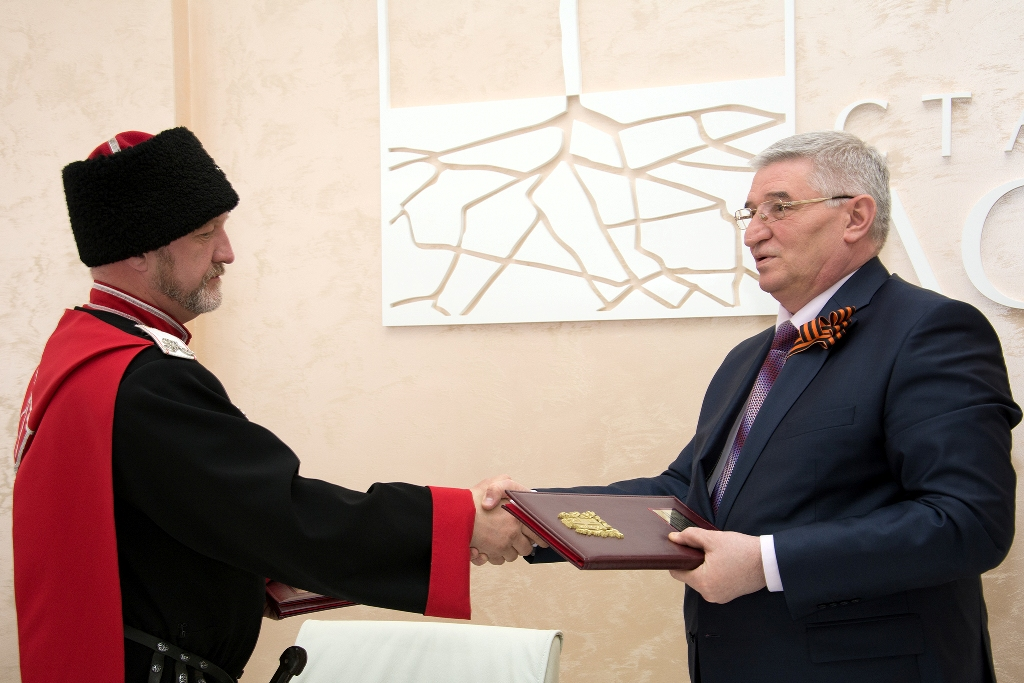 Администрация Ставрополя объединяет казачество города