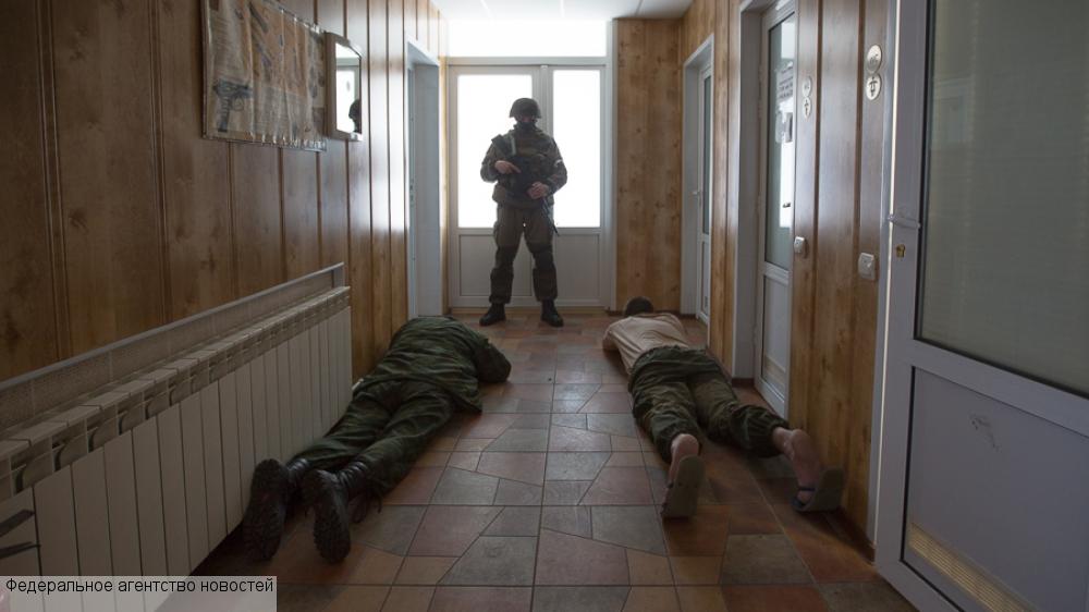 Банда вооруженных до зубов казаков обезврежена под Луганском