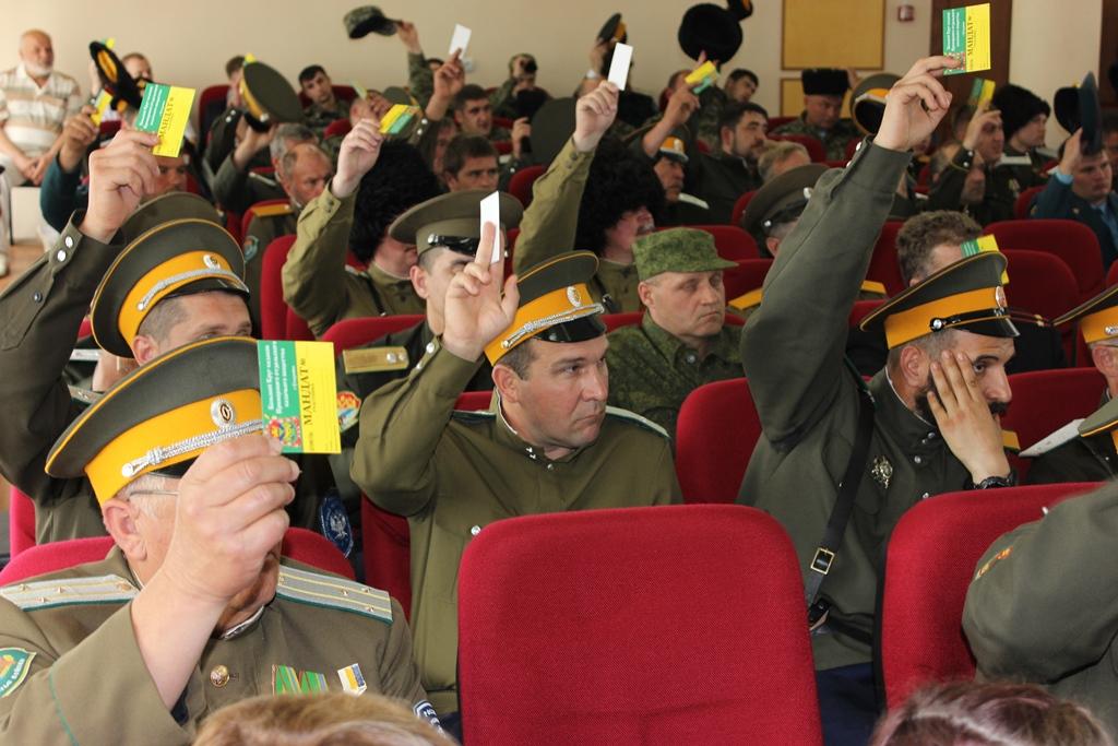Смена атамана прошла на Приморском отдельском казачьем Круге