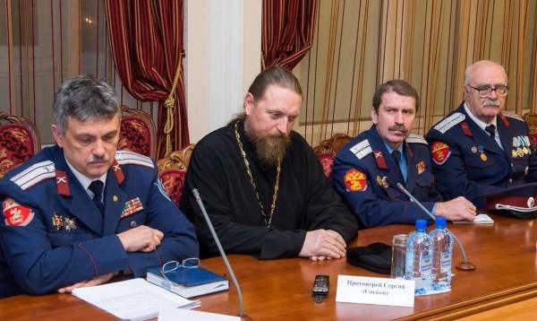 В Калужской области создан Совет по делам казачества