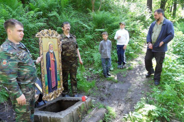 В Сосновом бору Кемерова обустроен святой источник