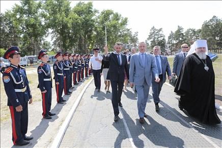 Белокалитвинский Матвея Платова казачий кадетский корпус признан лучшим в стране