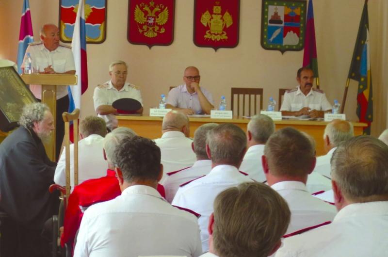 Николай Долуда: «В Тамани должно быть самое сильное казачье общество»