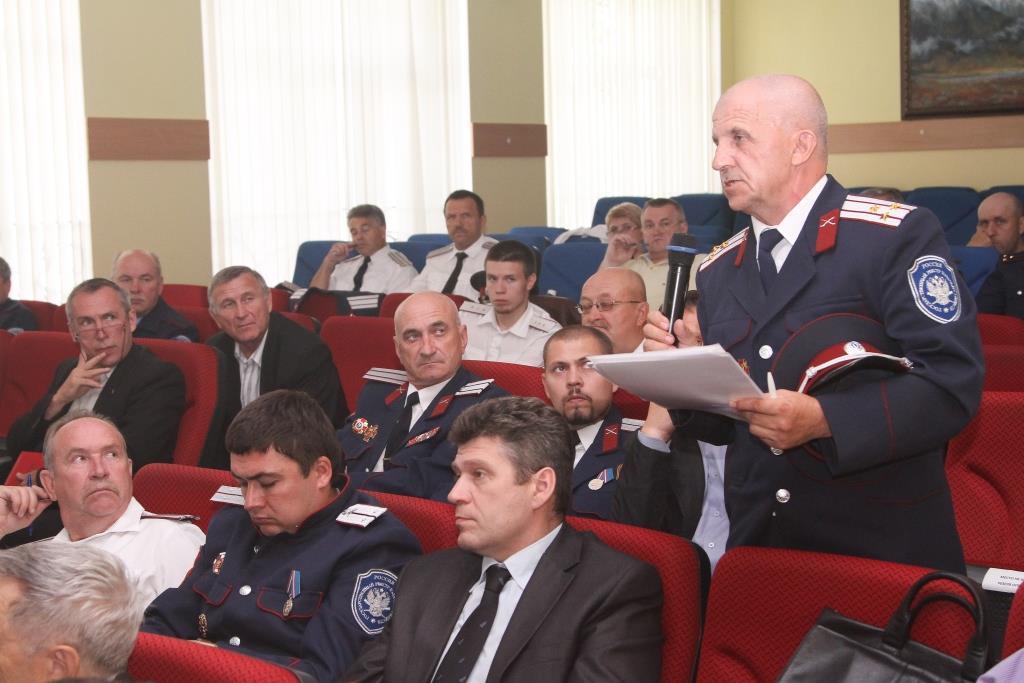 Представители ВКО Центральное казачье войско рассказали как получить удостоверение казака