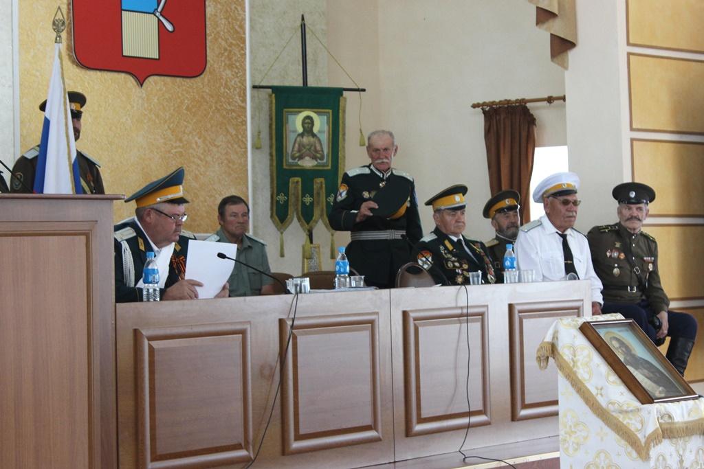 Вхождение в госреестр окончательно одобрил Приморский отдельский казачий Круг