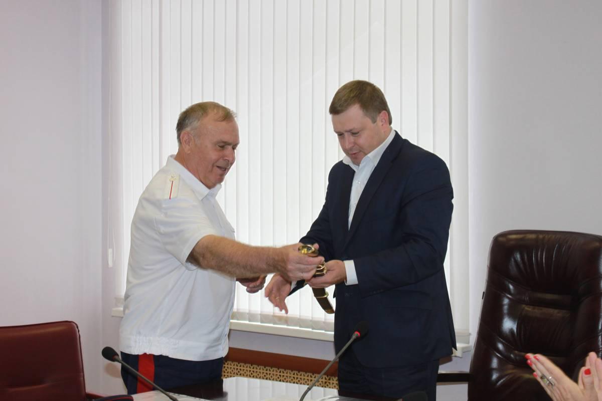 В Администрации Сызрани состоялось первое заседание Координационного совета по делам казачества