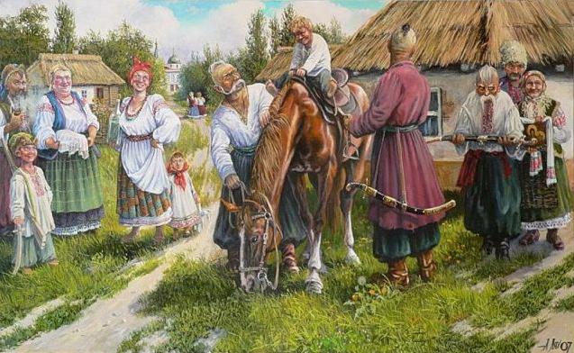 В.Ф. Никитин. Традиции казачества в современной России
