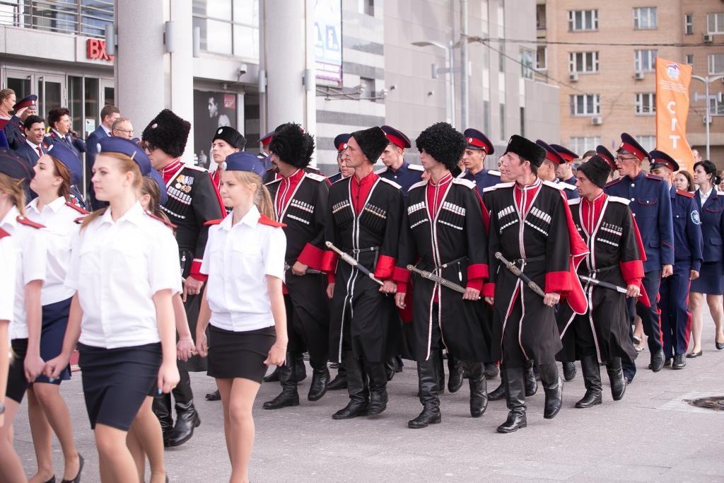 Празднование начала учебного года в Первом казачьем университете