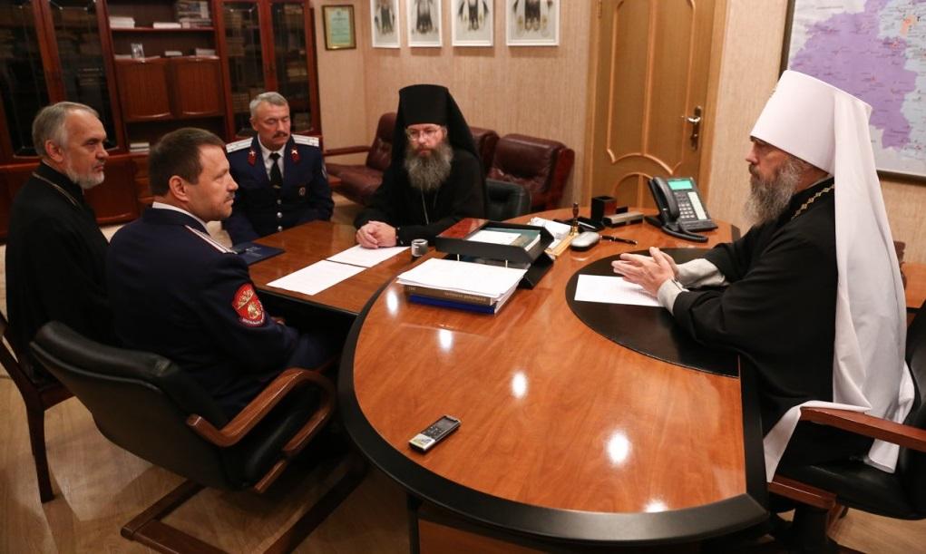 В Тульской епархии состоялось подписание соглашения о сотрудничестве