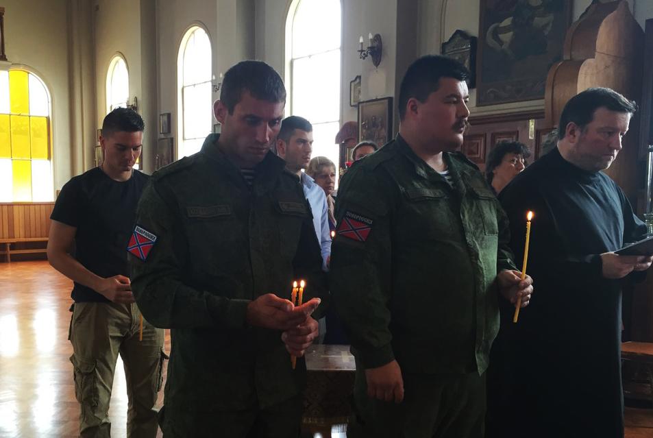 Панихиду по убиенному воину Павлу Дрёмову отслужили православные в Австралии