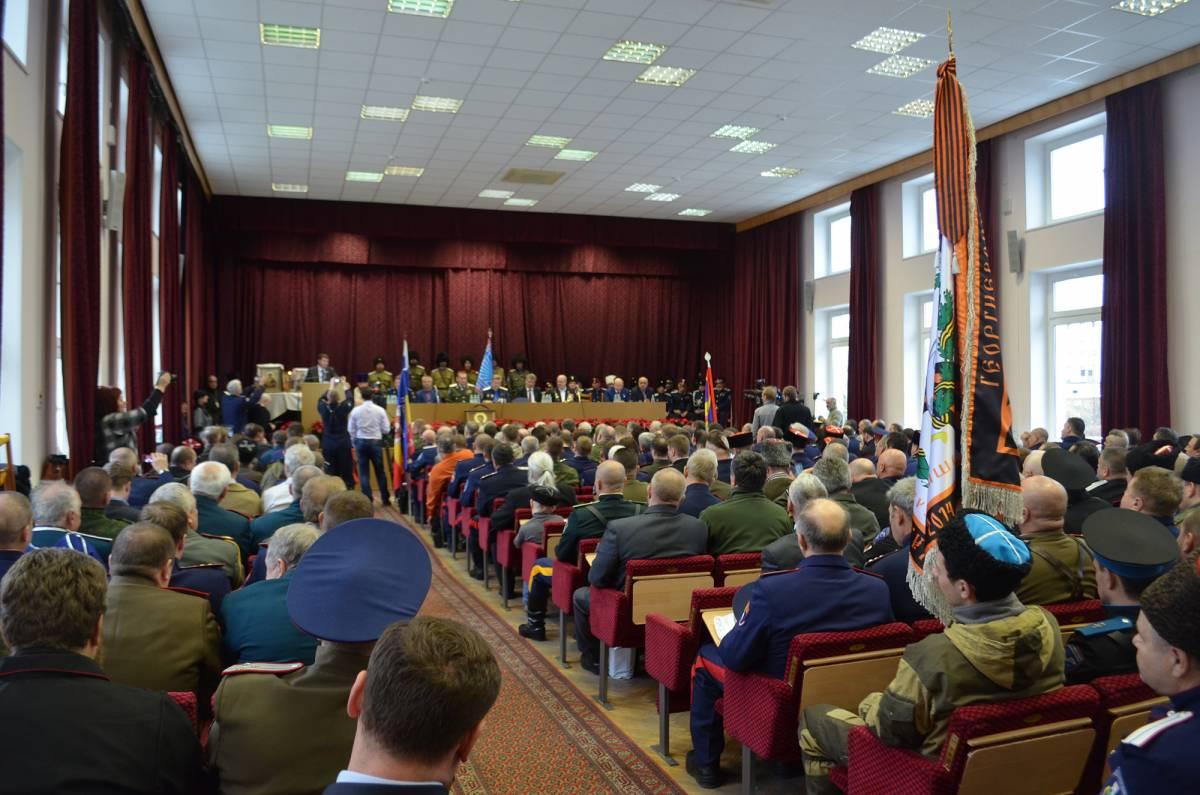 Первый Большой Круг «Союза Казаков-Воинов России и Зарубежья» прошел по-боевому