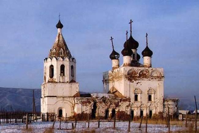 Казаков призвали восстановить церковь в Калинино вместо претензий на Музей декабристов в Чите