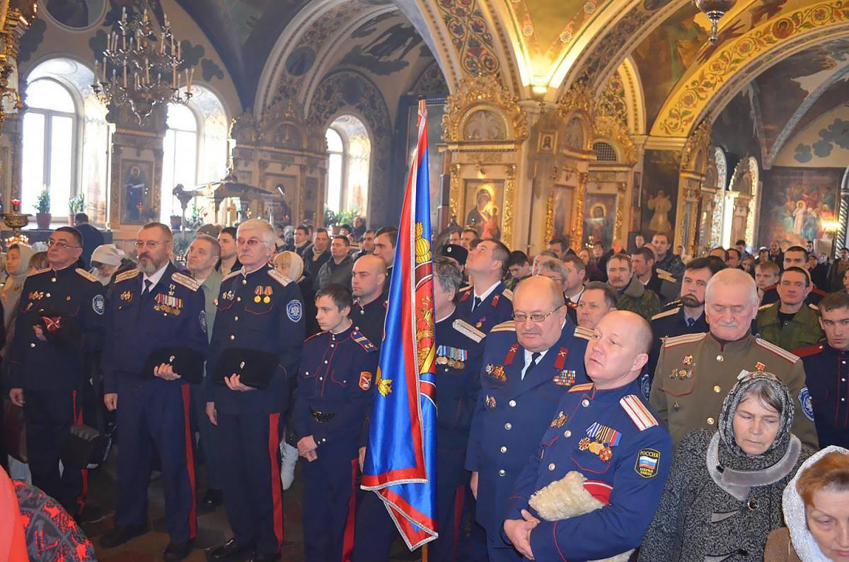 Подписание соглашения о сотрудничестве между Рязанской епархией и Рязанским казачьим обществом