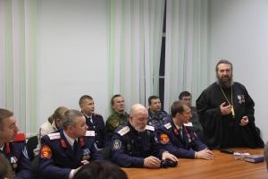Казачьего духовника Поморья наградили медалью Архистратига Михаила