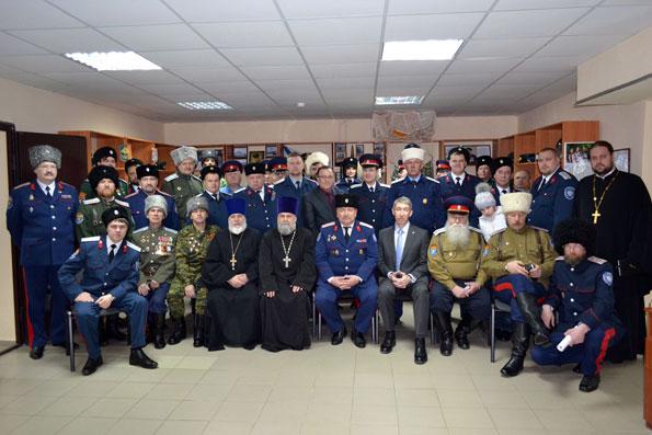 В Алексеевском состоялся совет атаманов казачьих обществ Республики Татарстан