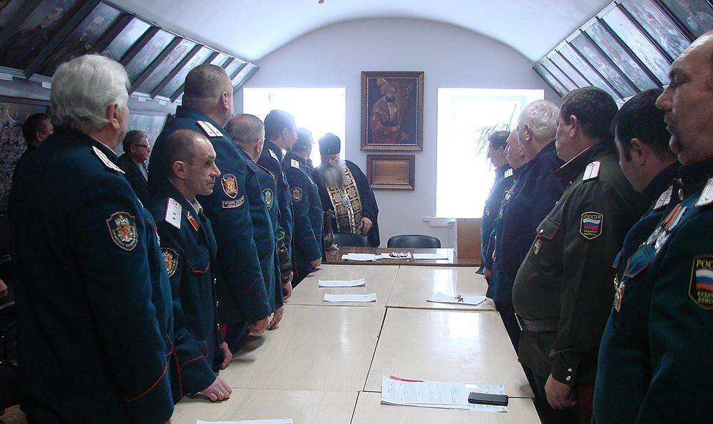 Зал Воинской славы Сибирского казачьего войска