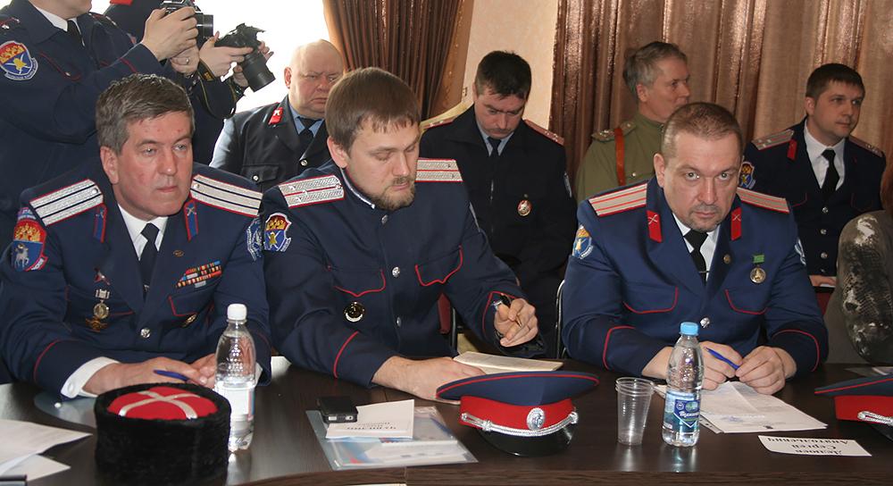 Заседание Совета по делам казачества в Ульяновской области.