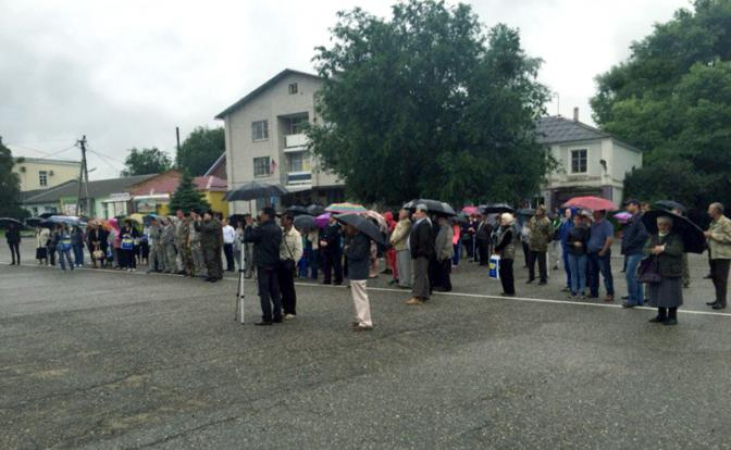 Казаки выступили организаторами митинга против отмены прямых выборов главы в Ставрополье
