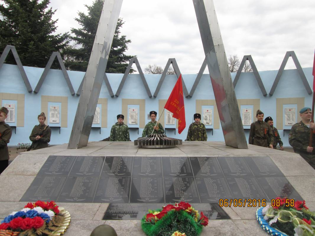 В  селе Спасское прошла церемония перезахоронения шести бойцов-красноармейцев