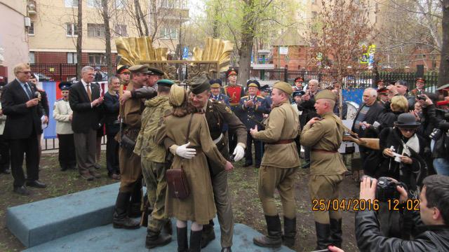 71 годовщина встречи советских и американских войск на Эльбе