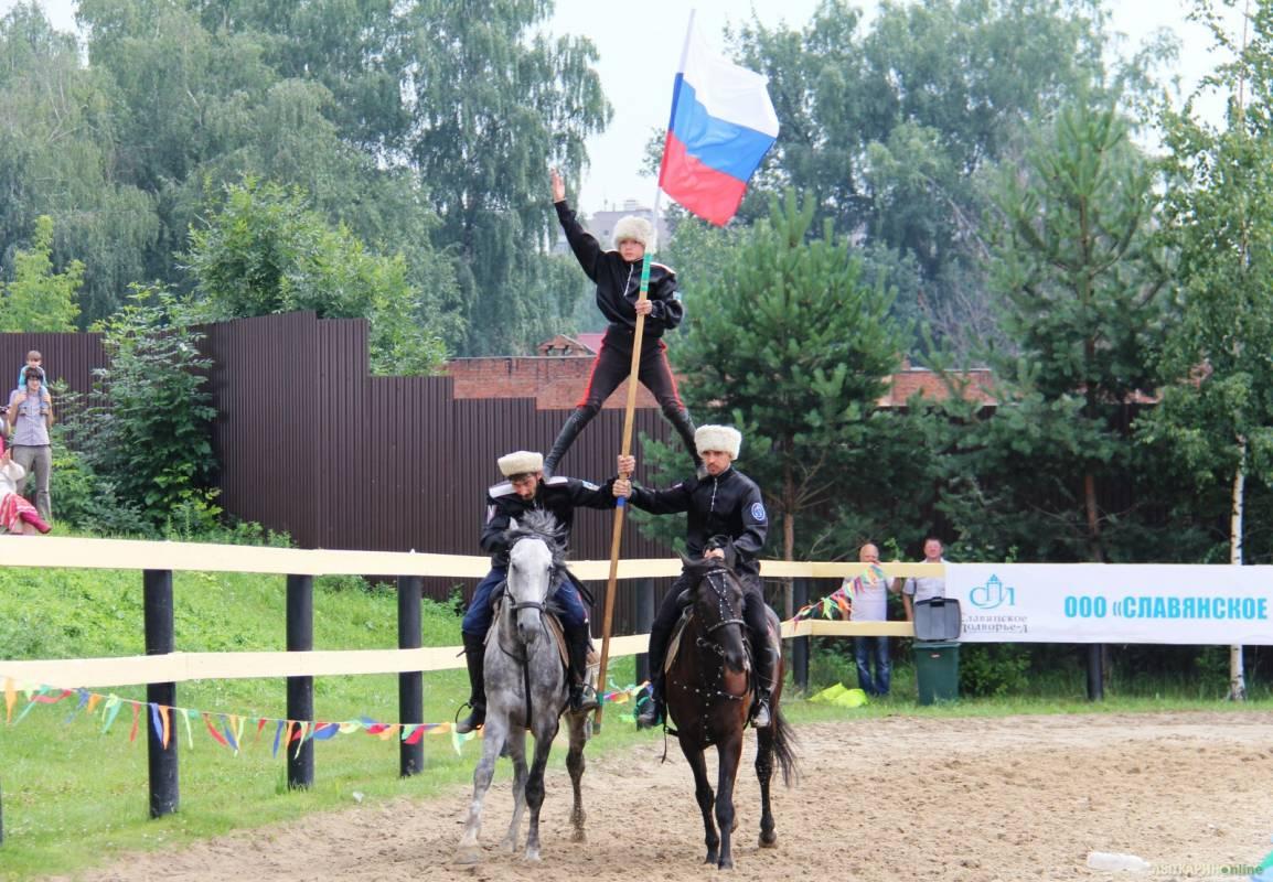 Волгоградские казаки стали чемпионами мира по джигитовке