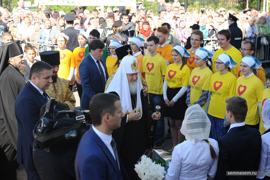 Визит Патриарха Кирилла в Коми: паства в штатском, сокровища Севера и благословение Гапликова
