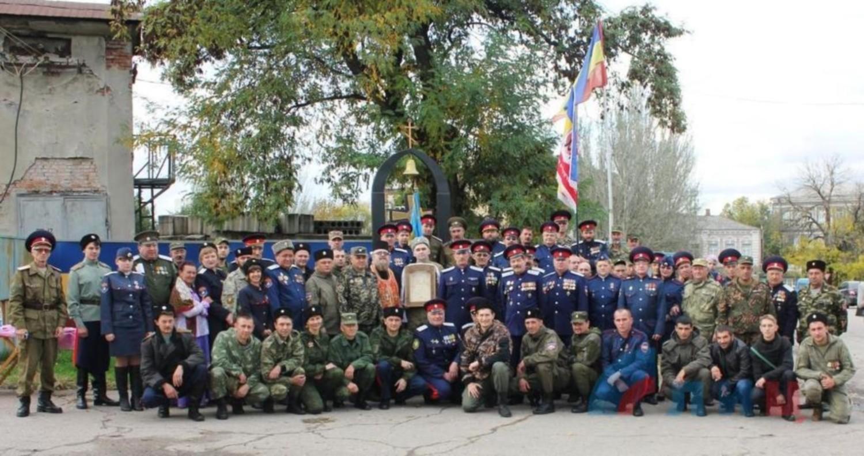 Казачья Присяга в Луганске