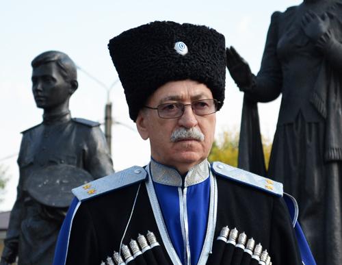 Атаман Терского казачьего войска В. Бондарев