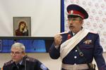 """Атаман РКО """"Петропавловское"""" В. Рыбальченко"""