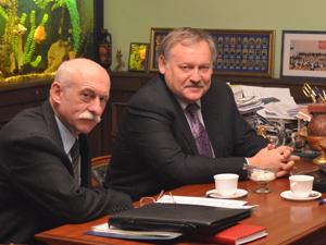 Руководитель КИАЦ Алексей Зборовский (слева) и Константин Затулин