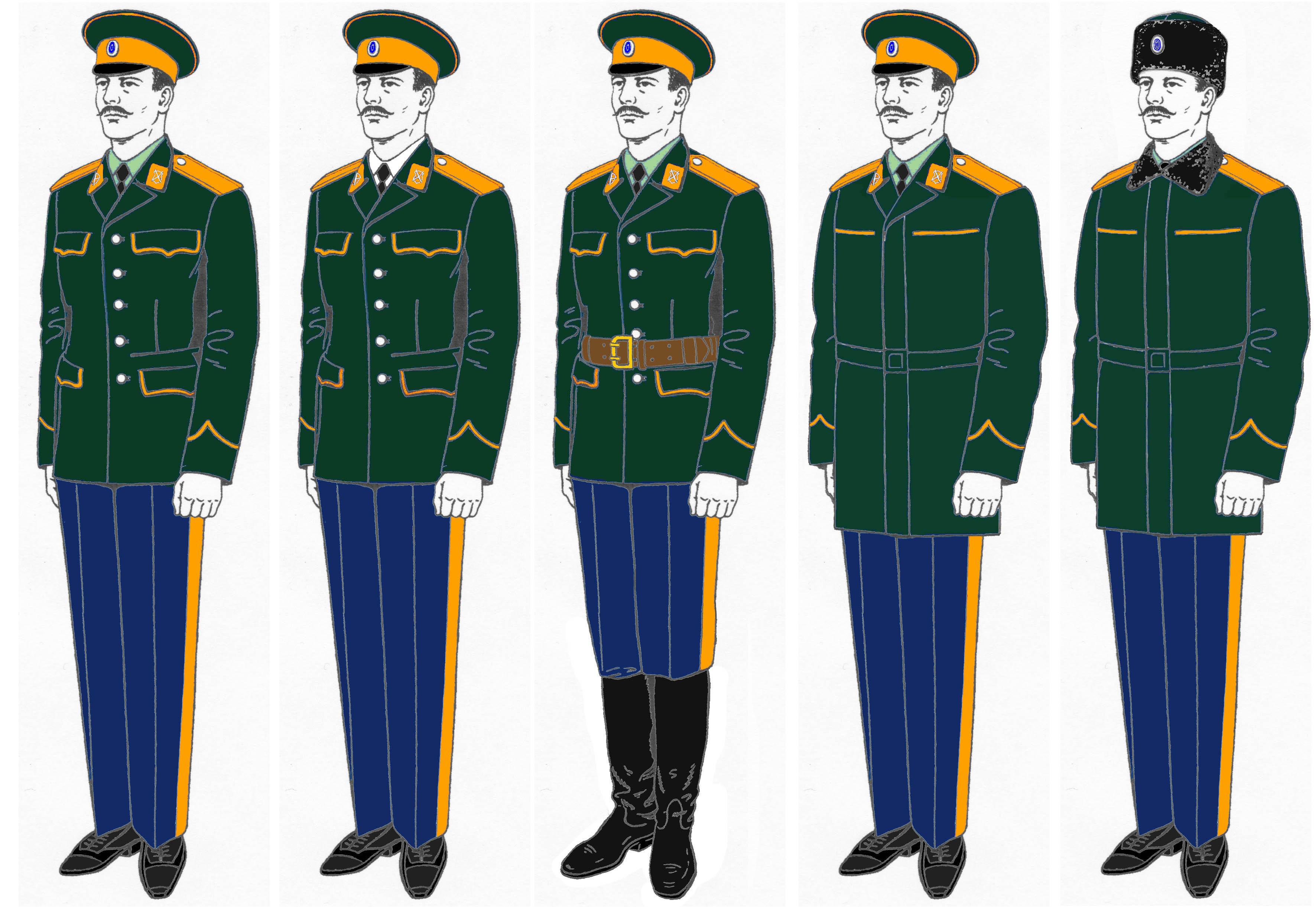 wearing army uniform